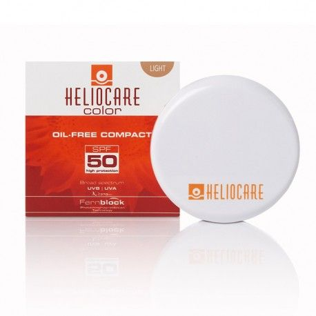 Heliocare Compact Oil Free SPF 50 Light